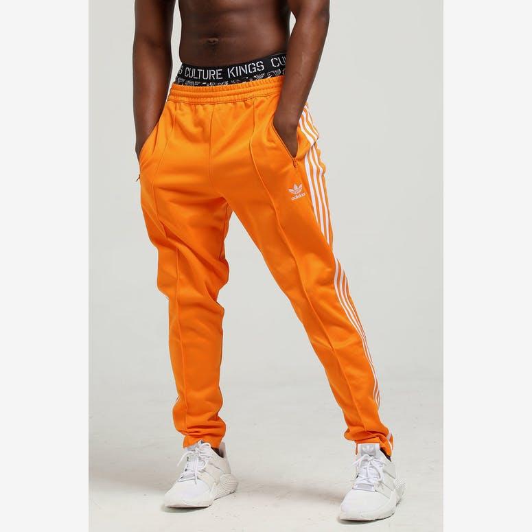 wholesale dealer 3117a 3d75f Adidas Beckenbauer Track Pant Orange – Culture Kings
