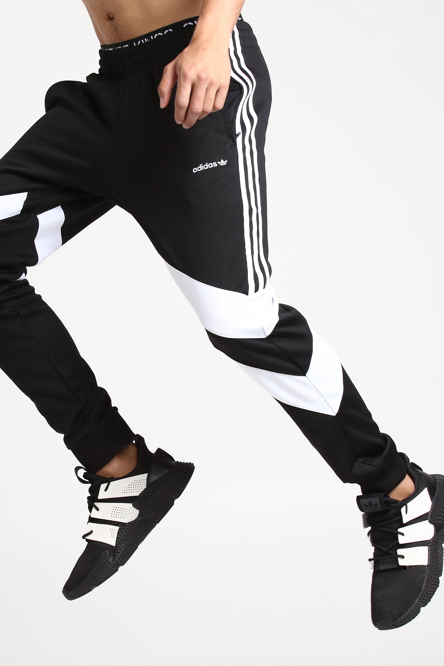 Adidas Palmeston Track Pant BlackWhite