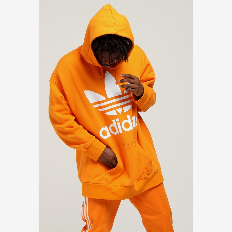 Adidas Tref Over Hood Orange