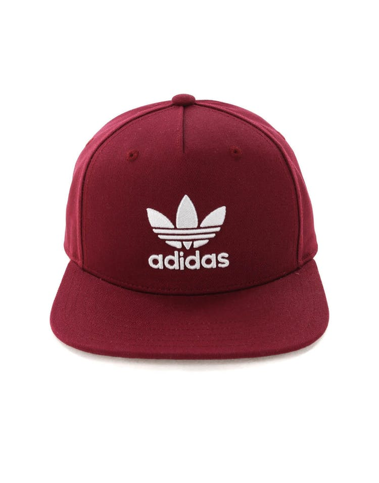 c33596463c496d Adidas AC Cap Tre Flat Burgundy – Culture Kings