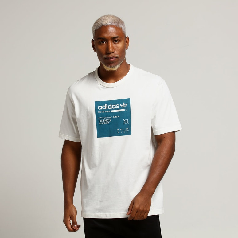 Adidas Kaval GRP Tee W White/Teal