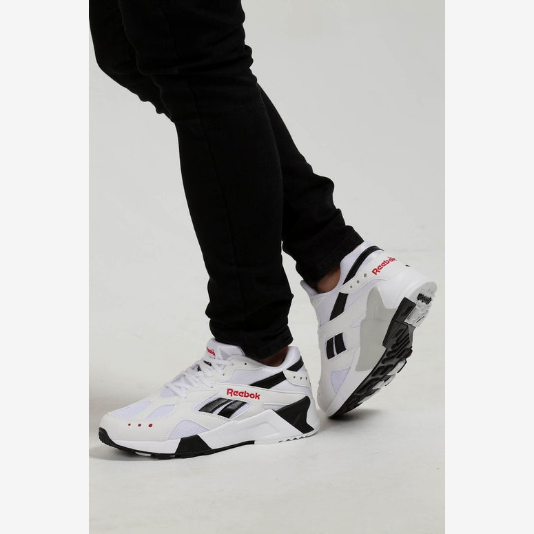 Reebok Aztrek White/Black/Red