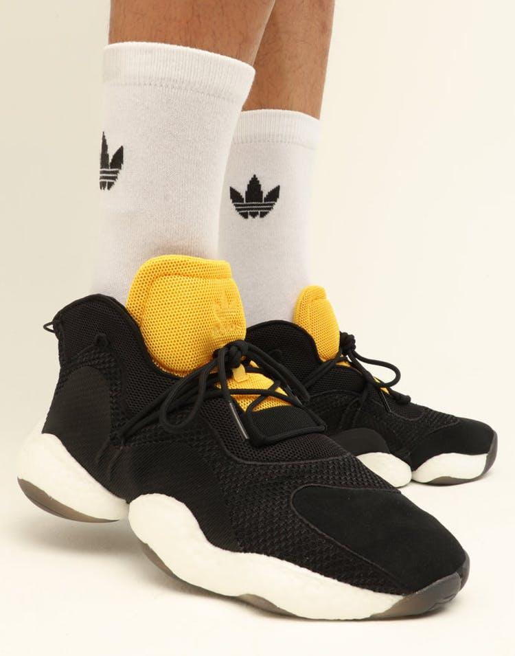2ab4529276 Adidas Crazy BYW Black/Gold/White