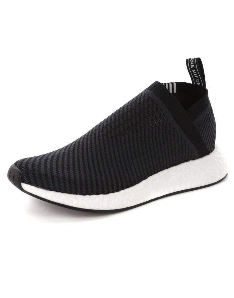 a8abdb1ea16da Adidas NMD CS2 Primeknit Black White