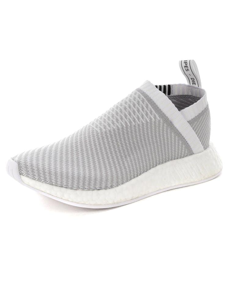 9b15fb4e7eedf Adidas NMD CS2 Primeknit Grey Whitem