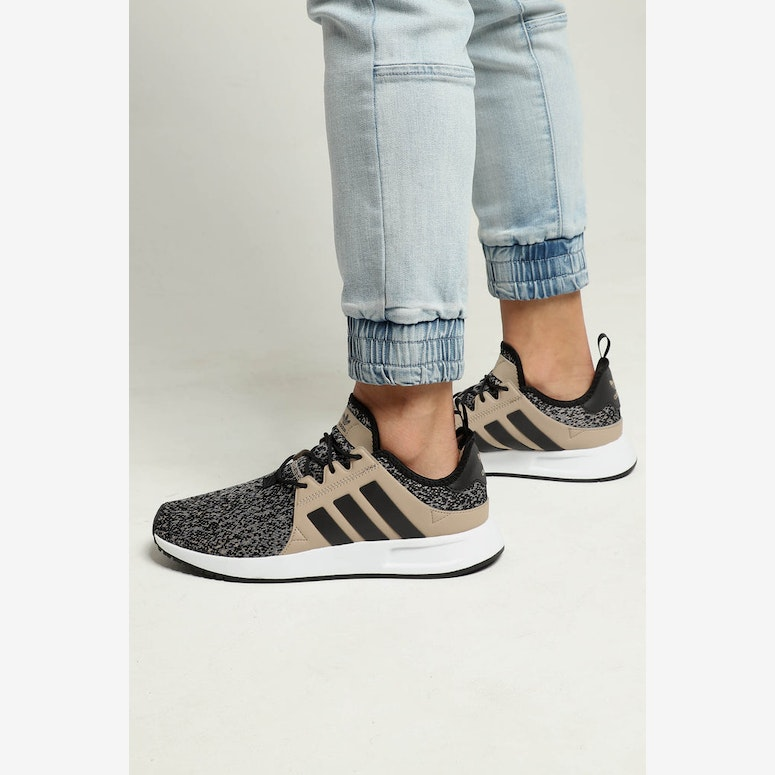 cdcbec6fee847c left view of mens adidas x plr casual shoes in khaki