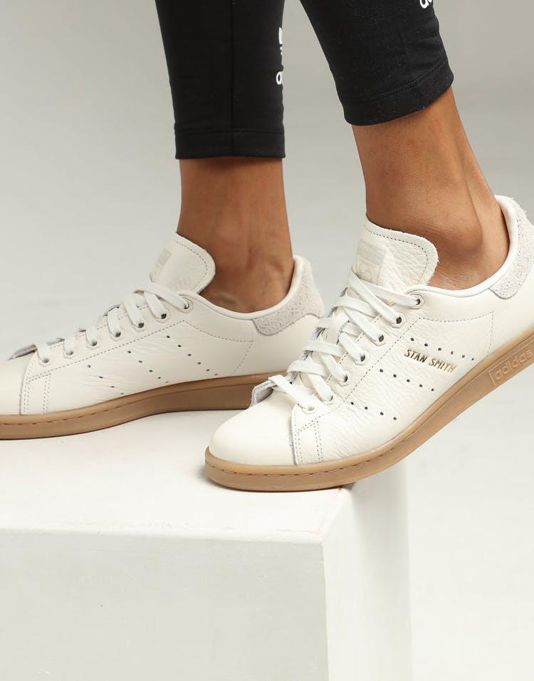 info for 7ccd9 156a5 Adidas Women's Stan Smith White/White/Gum
