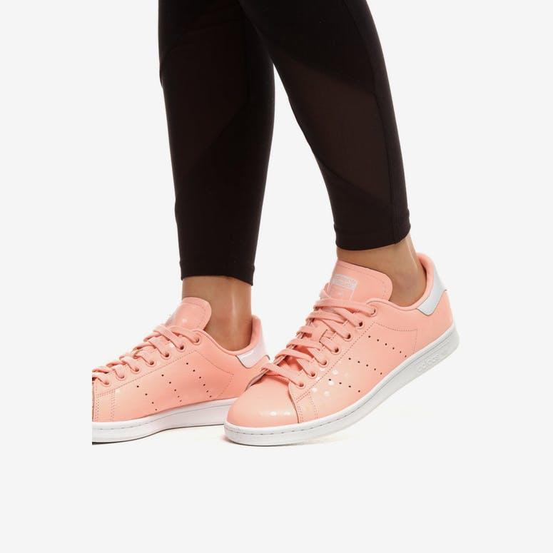 Adidas Women s Stan Smith Coral White  fa7b078903