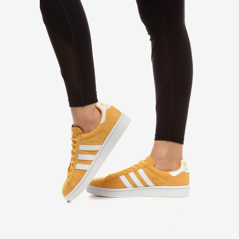 Adidas Women s Campus Gold White  6e4bd41e3