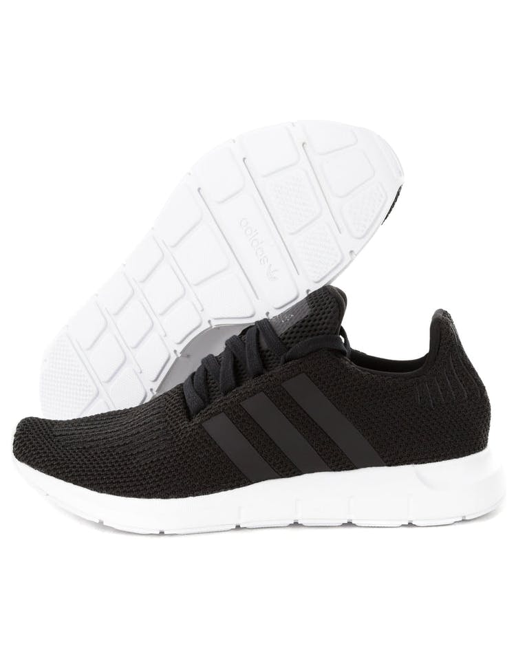 545254a42 Adidas Originals Swift Run Black White
