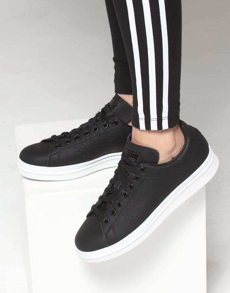 meet 40b6d ce6f7 Adidas Women's Stan Smith New Bold Black/White