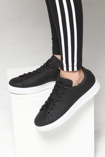 cheap for discount 62440 86b98 Adidas Women s Stan Smith New Bold Black White