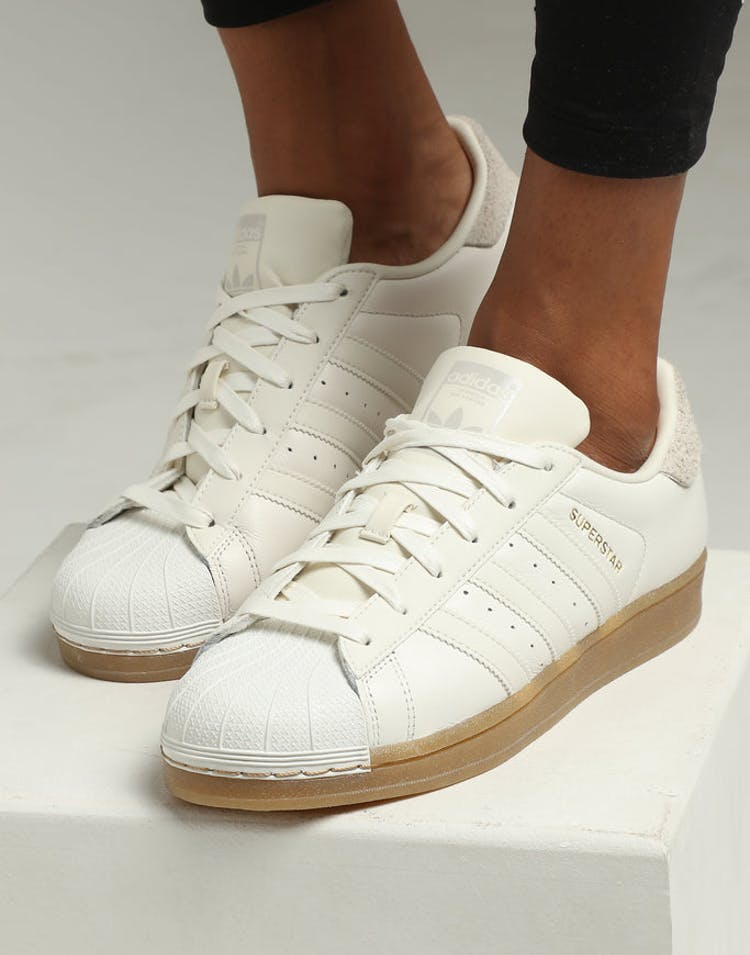 Adidas Women's Superstar White/White/Gum