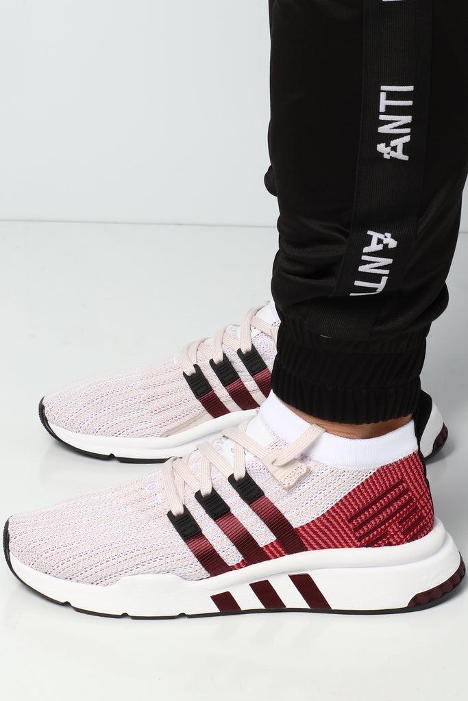 Black Adidas EQT Support Mid ADV Primeknit Online Lowest
