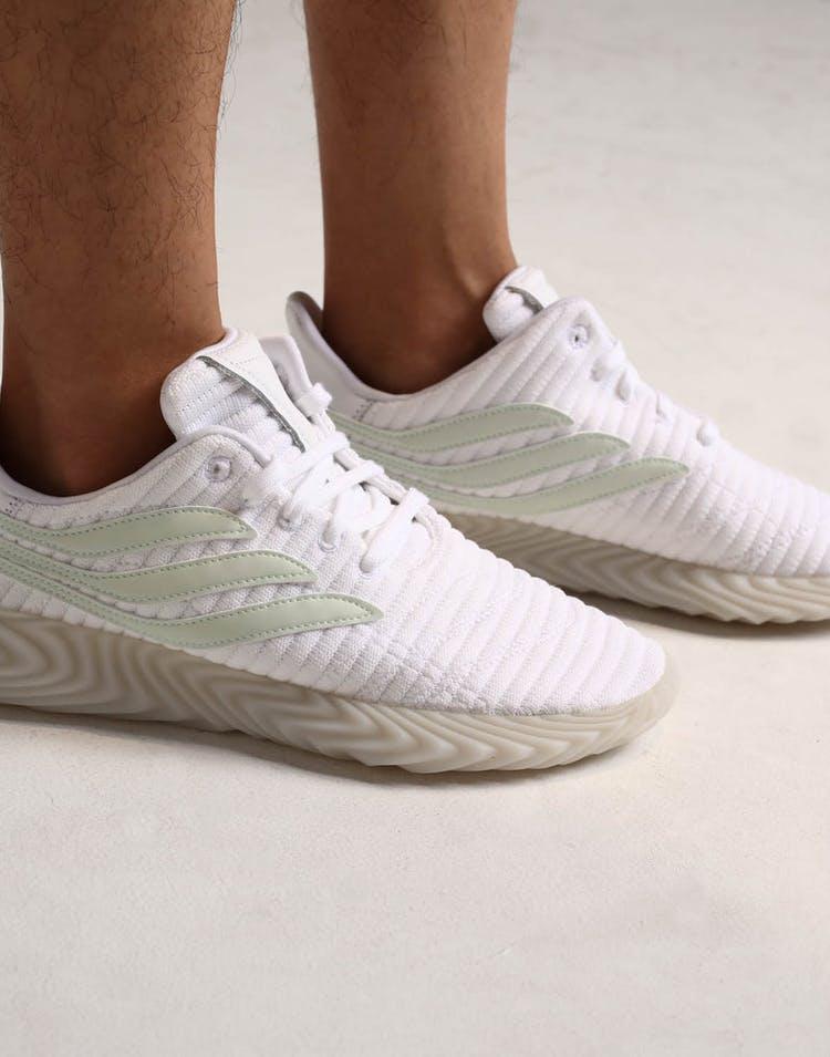 wholesale dealer 7ff69 90f0d Adidas Sobakov White Green