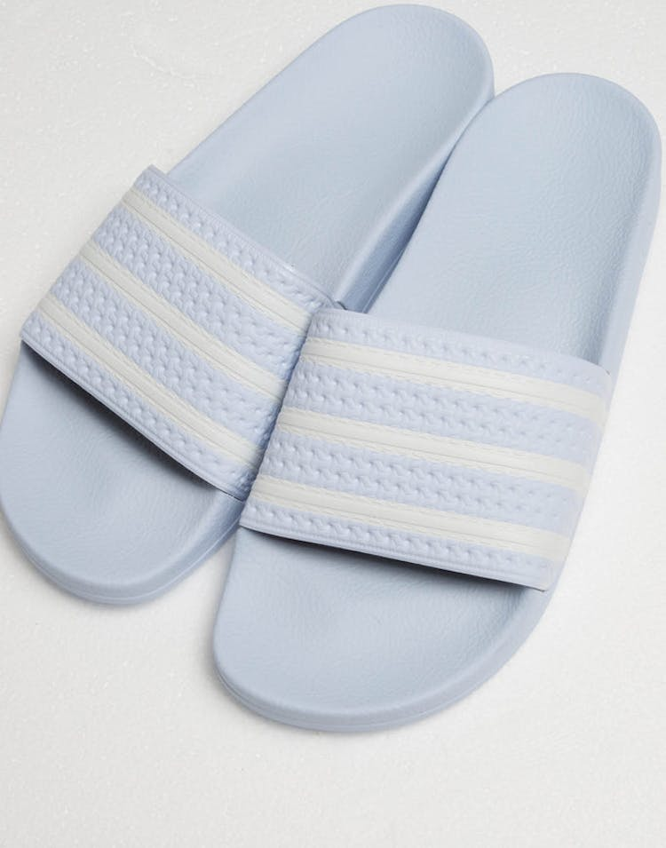 b3915e1aebd4 Adidas Adilette Light Blue White – Culture Kings