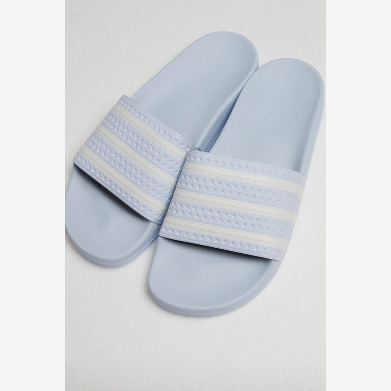 reputable site 0ac6f 00a59 Adidas Adilette Light BlueWhite – Culture Kings