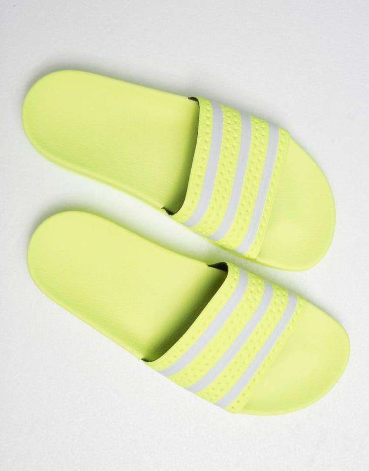 9b5bb060096e Adidas Adilette Lime White – Culture Kings