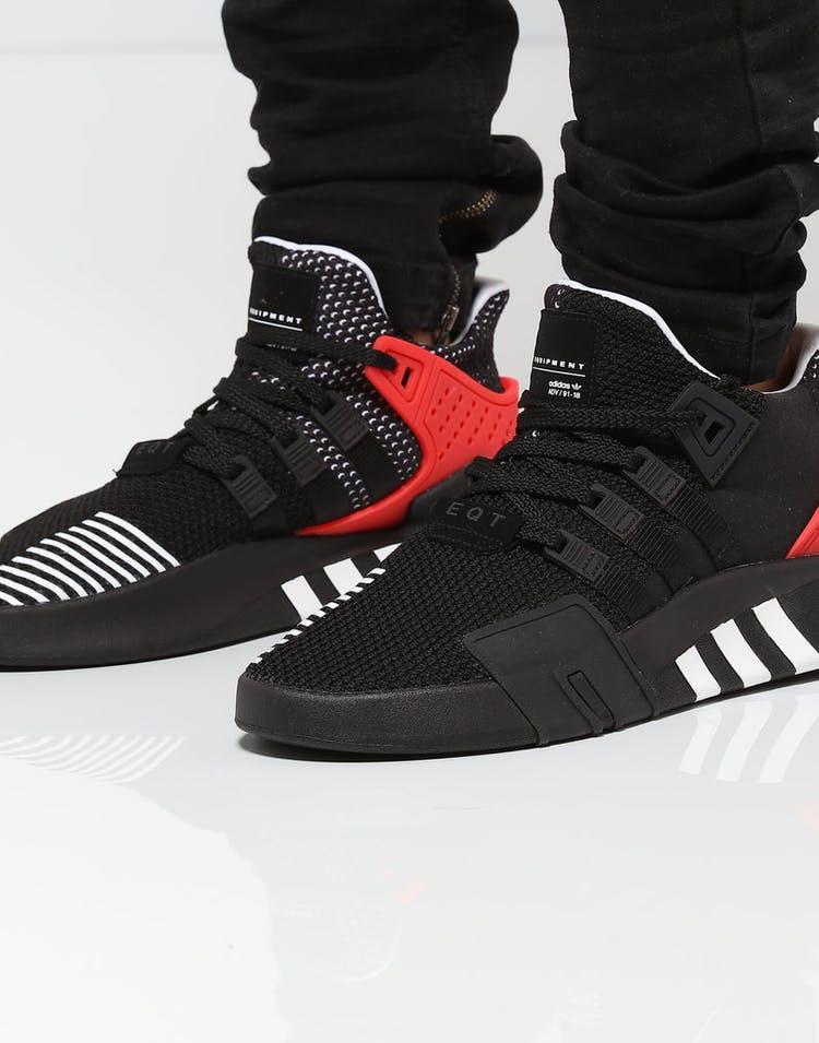 outlet store e4833 a4cca Adidas Originals EQT BASK ADV Black/White/Red