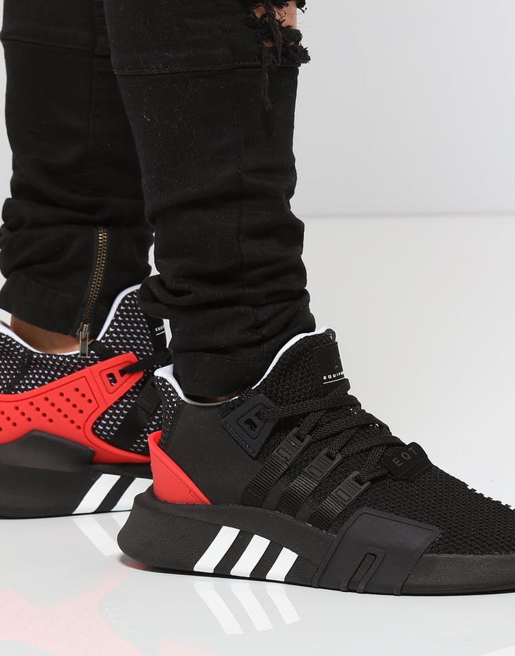 outlet store a4f94 ac9b1 Adidas Originals EQT BASK ADV Black/White/Red