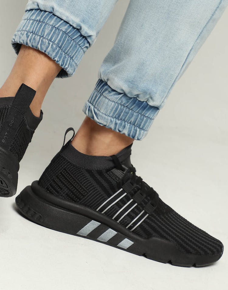 check out 4695c 96ca5 Adidas EQT Support Mid ADV Black Charcoal – Culture Kings