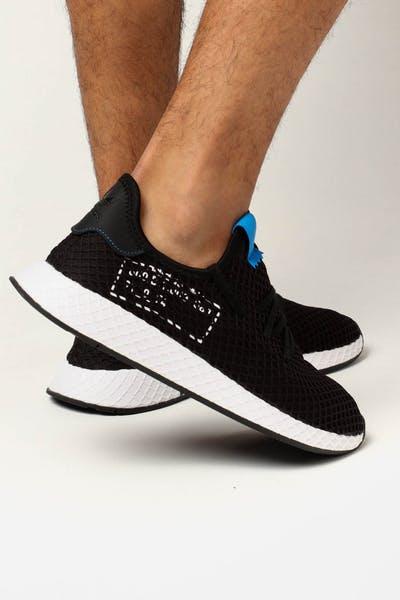 new product e509e bc709 Adidas Deerupt BlackBlue