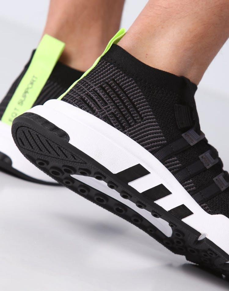 1e21dbeae48f Adidas EQT Support Mid ADV Primeknit Black White