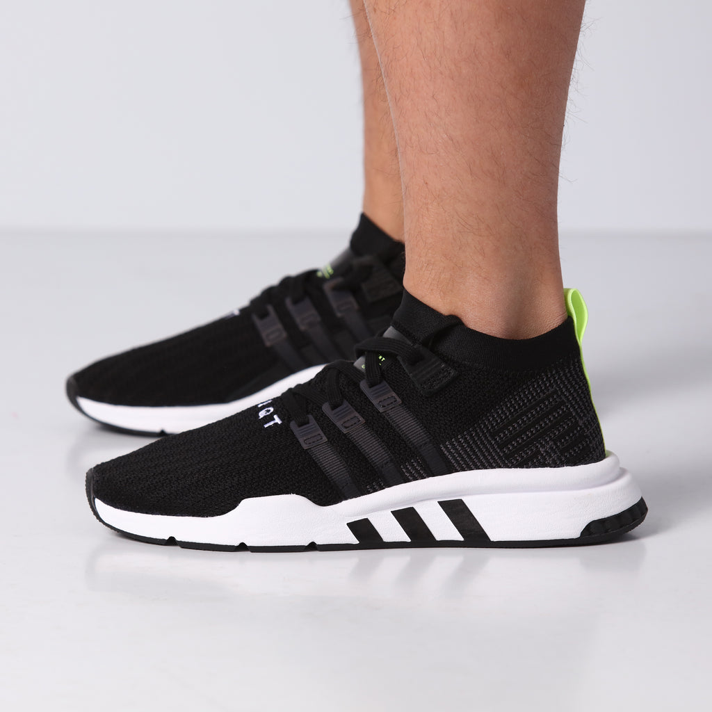 brand new 0a1fb 2e3b1 ... france adidas eqt support mid adv primeknit black white 63541 19641