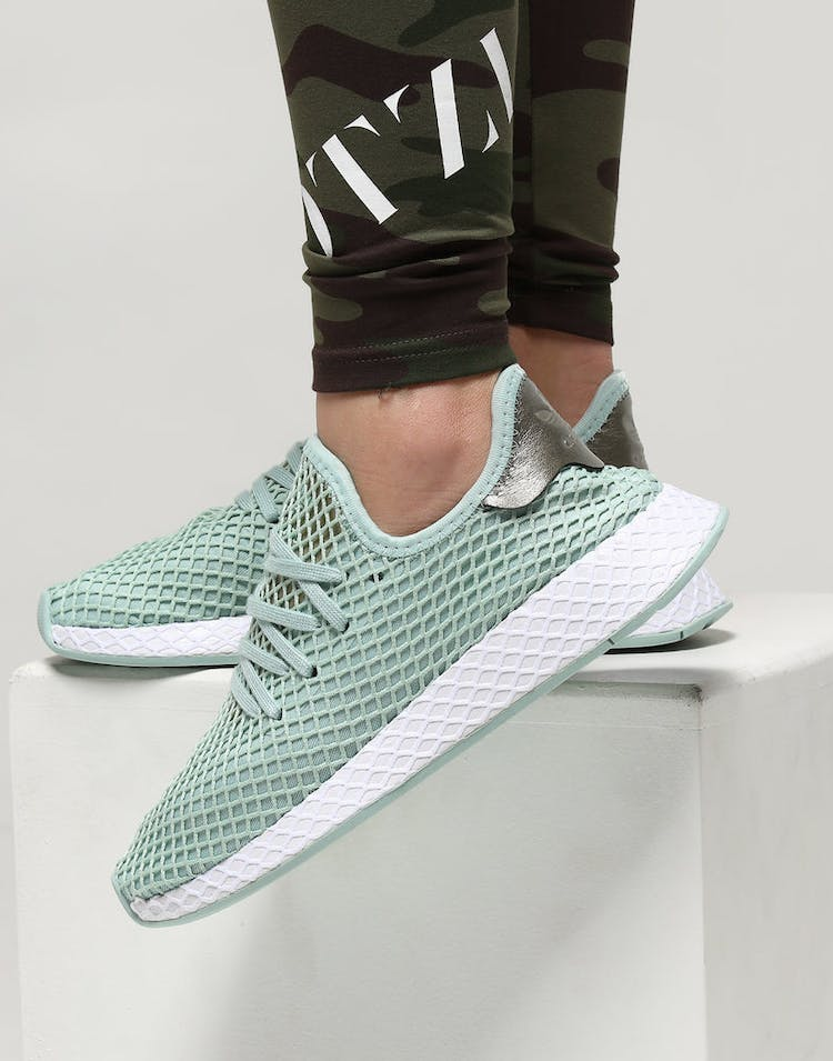 1ddd55e73 Adidas Women s Deerupt Ash Green Silver – Culture Kings