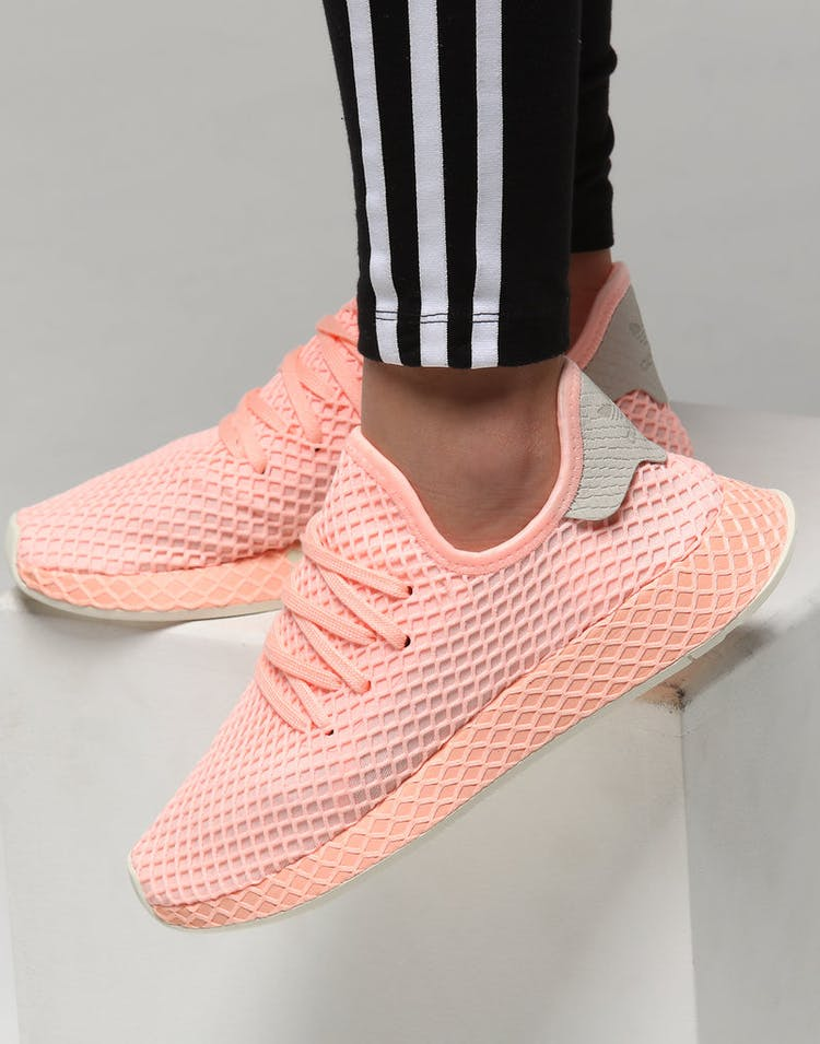 45dc1ca8ebca4 Adidas Women s Deerupt Orange Off White – Culture Kings