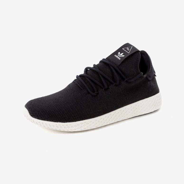 new style 68e6b 6627b Adidas Originals Pharrell Williams Tennis HU Shoe BlackWhite  AQ1056 –  Culture Kings