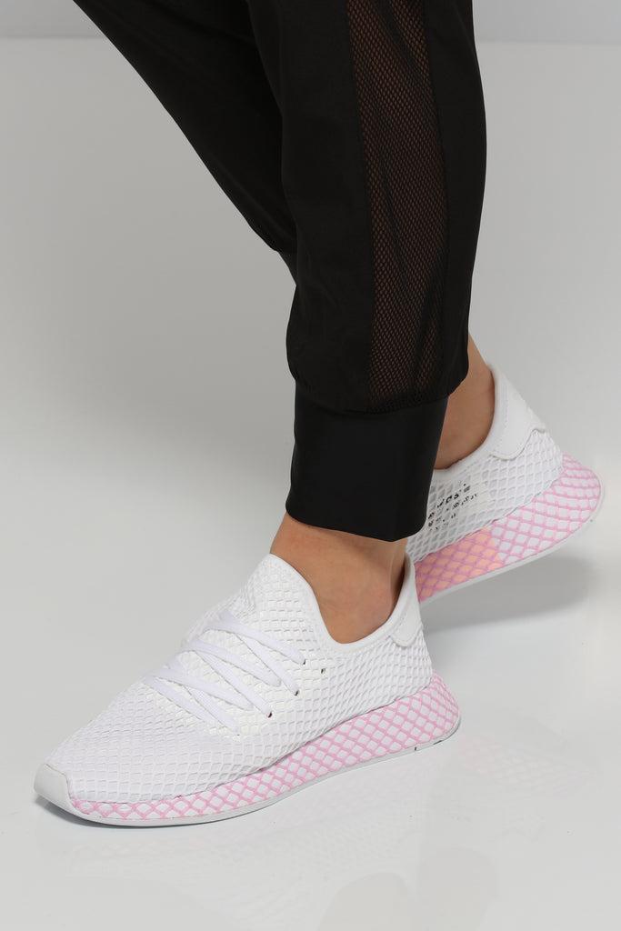 Adidas Women's Deerupt Runner WhitePink