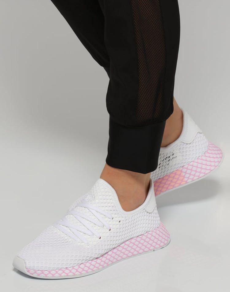 1462950ee Adidas Women s Deerupt Runner White Pink