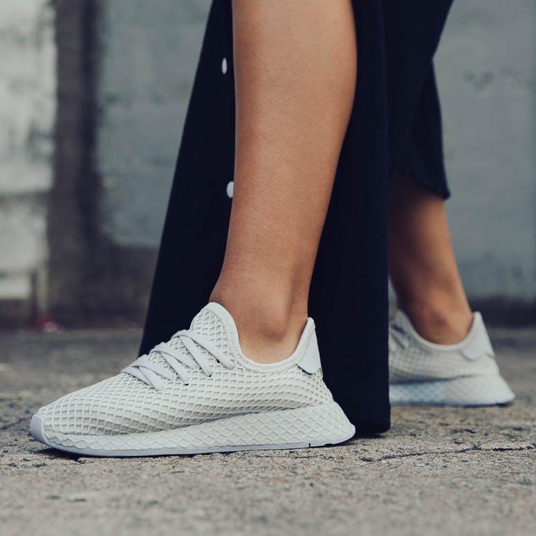 1c37502b18e394 Adidas Women s Deerupt Grey Blue – Culture Kings
