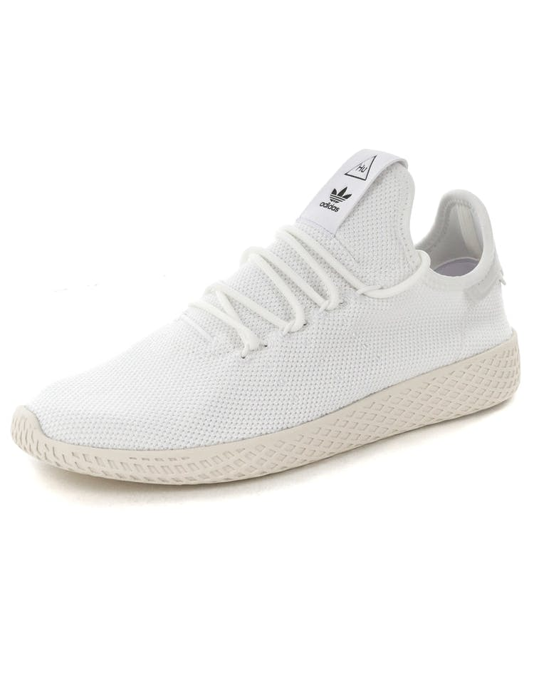 0b5e328aa Adidas Originals Pharrell Williams Tennis HU Shoe White White ...