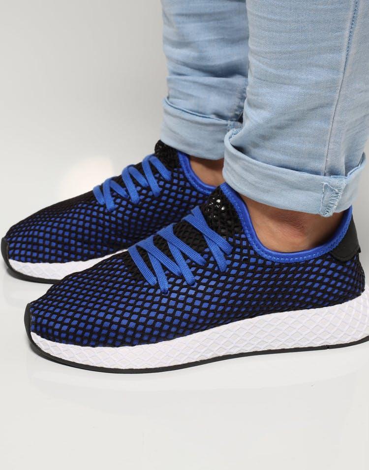 d56d20e4e Adidas Deerupt Runner Black Blue White