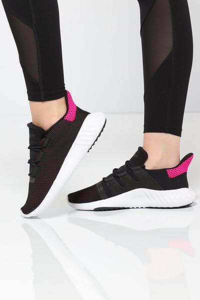 1681bd9d95e6 Adidas Women s Tubular Dusk Black White Pink