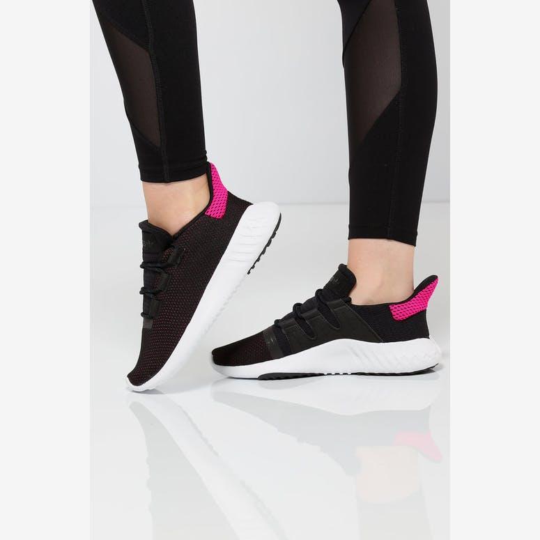 2730da0b5716 Adidas Women s Tubular Dusk Black White Pink