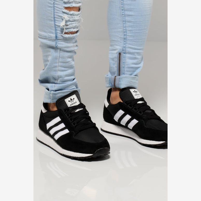 new styles 76670 f34a2 Adidas Forest Grove BlackWhite  B41550 – Culture Kings