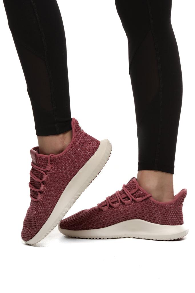 adidas Tubular Shadow Sneakers Casual Maroon Womens   eBay