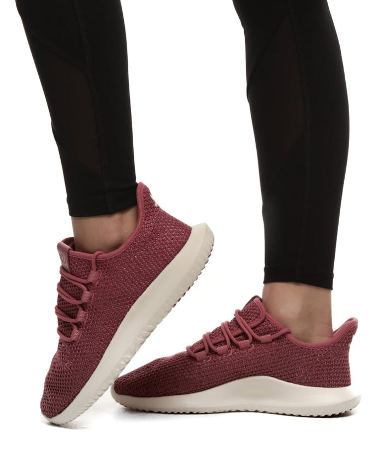 free delivery 100% high quality 2018 shoes Adidas Women's Tubular Shadow CK Maroon/White