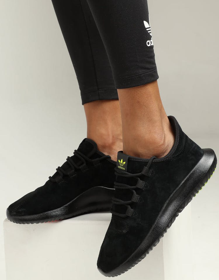 sports shoes 2c703 3c844 Adidas Women s Tubular Shadow Black Yellow Red – Culture Kings