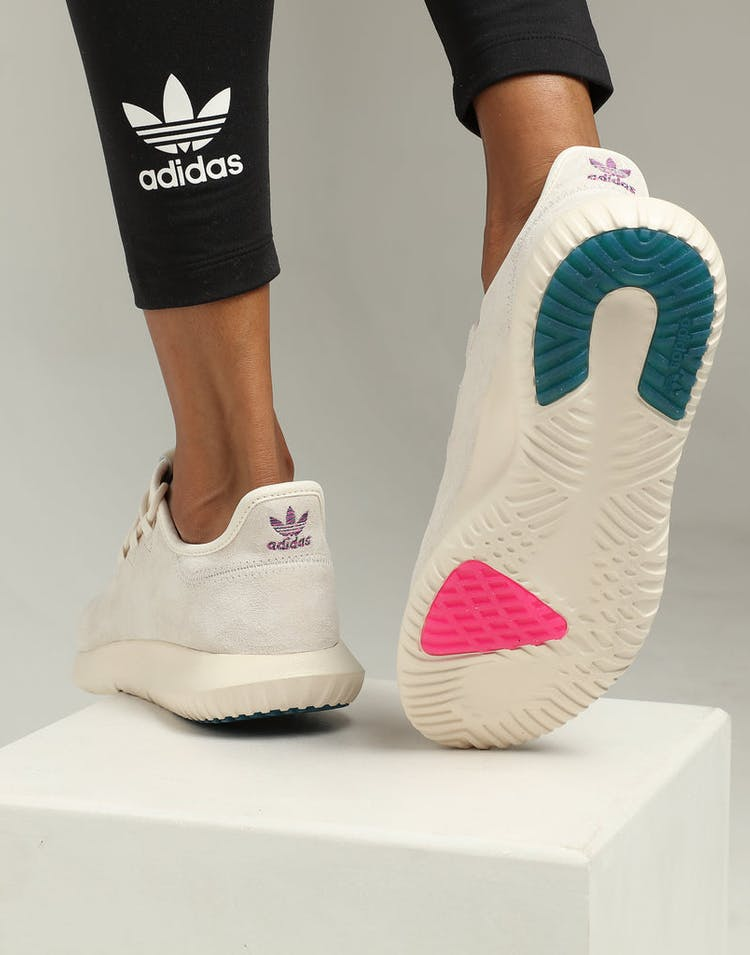 Adidas Women's Tubular Shadow White/Pink/Green