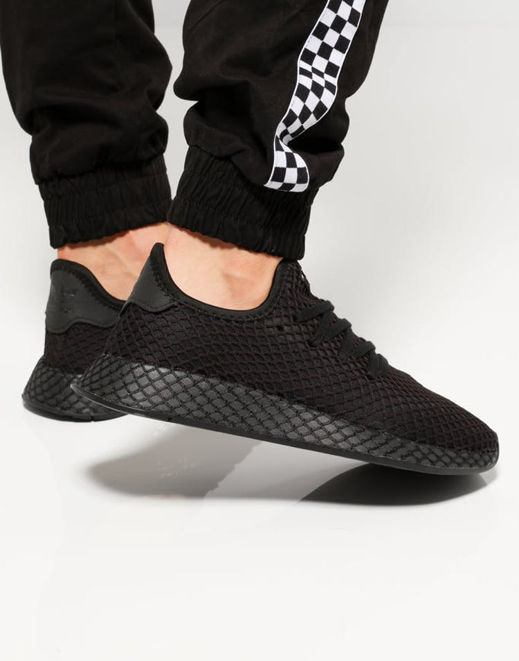 9ffe7f326 Adidas Deerupt Runner Black Black