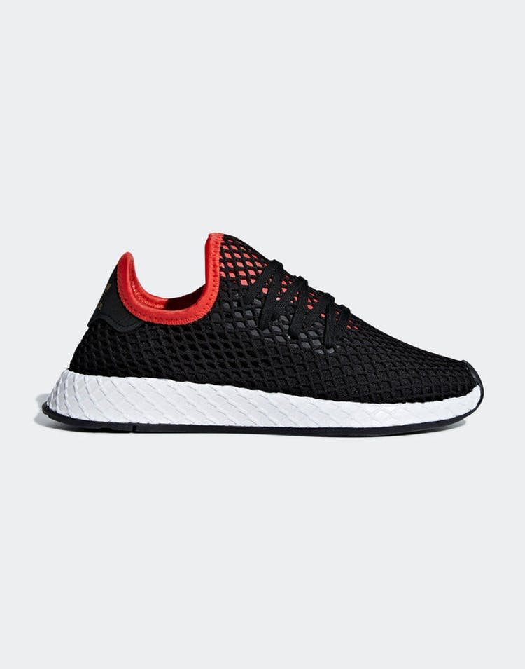 new product a2267 8d547 Adidas Deerupt Runner J Black Black White – Culture Kings