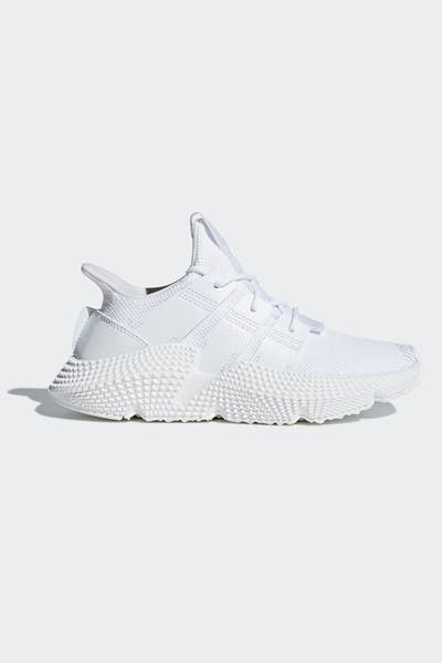 e11a4b21e Kids. Adidas Prophere J White White