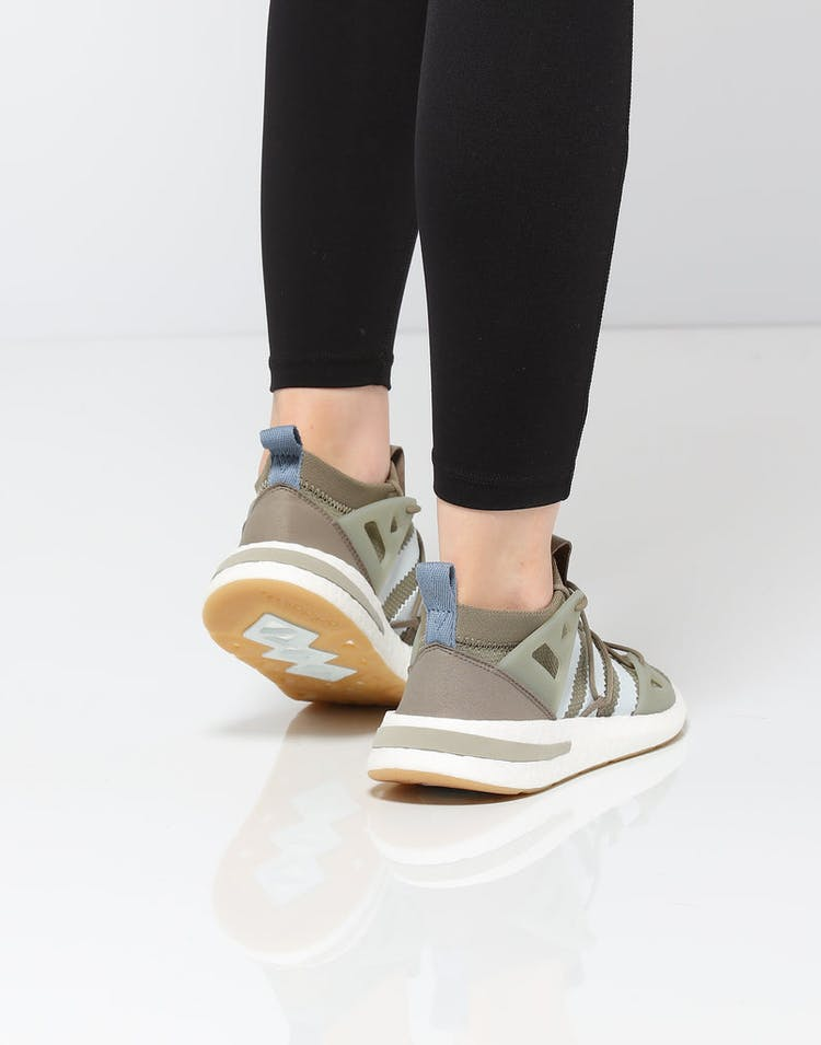 best service 44d4e 76888 Adidas Women s Arkyn Olive White