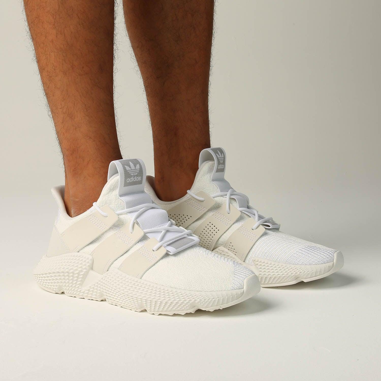White Shoes adidas Originals Prophere B37454 Mens