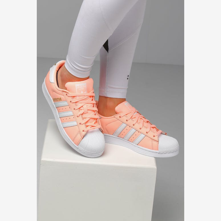 Adidas Women's Superstar Pink/White
