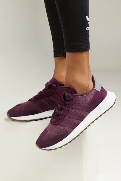3cd47b8f3 Adidas Women s FLB Runner Burgundy Grey